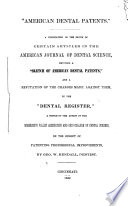 American Dental Patents