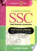 Ssc Steno Grade C&D Exam Eng