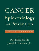 Pdf Cancer Epidemiology and Prevention