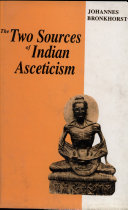 The Two Sources of Indian Asceticism