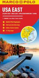 Marco Polo Map USA East