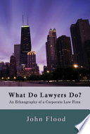 What Do Lawyers Do?