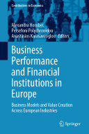 Business Performance and Financial Institutions in Europe
