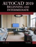 AutoCAD 2019 Beginning and Intermediate Book