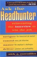 Ask the Headhunter Book PDF