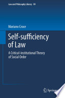 Self Sufficiency Of Law