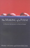 The Making Of A Poem Book