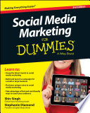 """Social Media Marketing For Dummies"" by Shiv Singh, Stephanie Diamond"