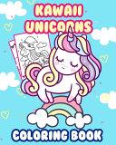 Kawaii Unicorns Coloring Book