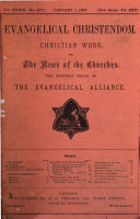 Evangelical Christendom  Christian Work and THe News of the Churches