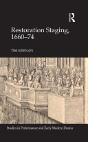 Restoration Staging, 1660-74 [Pdf/ePub] eBook
