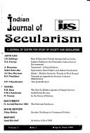 Indian Journal of Secularism