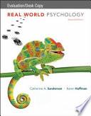 Real World Psychology, 2e Evaluation Copy