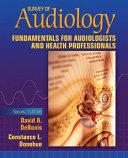 Survey of Audiology Book