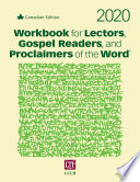Workbook for Lectors  Gospel Readers  and Proclaimers of the Word   2020 Book