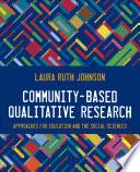 Community-Based Qualitative Research