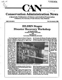 Conservation Administration News