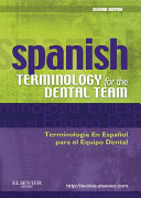 Spanish Terminology for the Dental Team   E Book