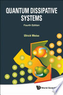 Quantum Dissipative Systems Book