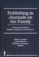 Publishing in Journals on the Family
