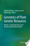 Genomics Of Plant Genetic Resources Book PDF
