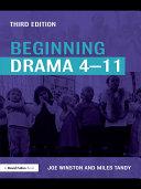 Beginning Drama 4 11 Third Edition