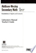 Foundations of Algebra and Geometry