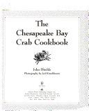 The Chesapeake Bay Crab Cookbook