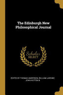 The Edinburgh New Philosophical Journal Book