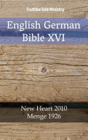 English German Bible XVI