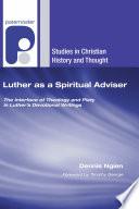 Luther as a Spiritual Adviser