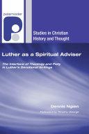Luther as a Spiritual Adviser Book