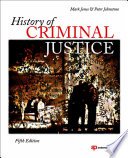 History of Criminal Justice Book