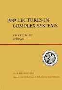 Lectures in the Sciences of Complexity