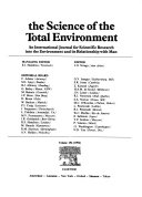 The science of the total environment Book