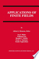Applications of Finite Fields