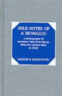 Nile Notes Of A Howadji