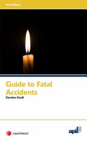 APIL Guide to Fatal Accidents