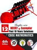 (SAMPLE) Chapter-wise NCERT + Exemplar + Past 10 Years Solutions for CBSE Class 12 Mathematics 4th Edition