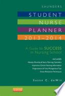 Saunders Student Nurse Planner  2013 2014