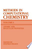 Methods in Computational Chemistry Book