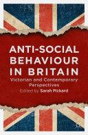 Anti-Social Behaviour in Britain Pdf/ePub eBook
