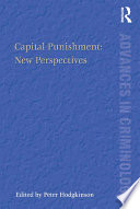 Capital Punishment New Perspectives