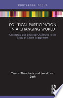 Political Participation in a Changing World