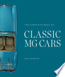 The Complete Book of Classic MG Cars