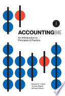 Cover of Accounting: An Introduction to Principles and Practice 9ed