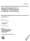 Dating and Earthquakes