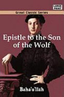 Epistle to the Son of the Wolf