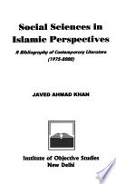 Social Sciences in Islamic Perspectives