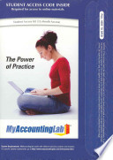 The Power of Practice, MyAccountingLab Access Code Card